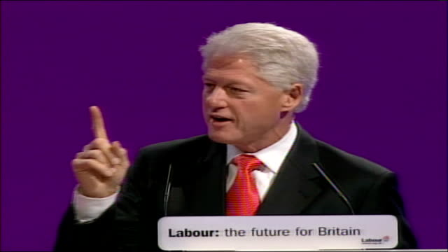 bill clinton speech not accident commitment to fight against hiv and aids until it is a problem of the past british government has worked with my... - hiv aids conference stock videos & royalty-free footage