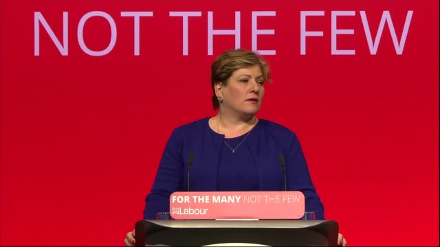 Emily Thornberry and Keir Starmer speeches ENGLAND West Sussex Brighton INT Emily Thornberry MP speech SOT