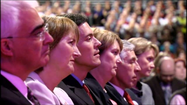 labour party conference: gordon brown keynote speech; gordon brown mp speech sot - thank goodness sarah and i are a team, proud to be her husband - i... - new age stock videos & royalty-free footage