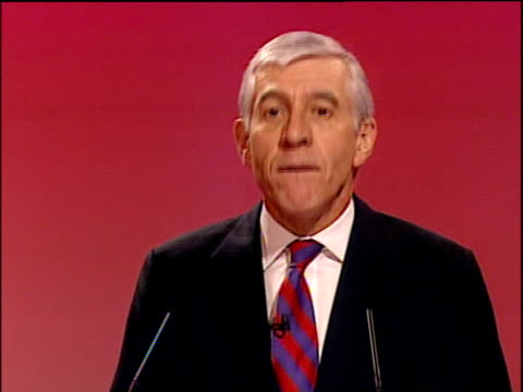 jack straw speech straw speech sot this programme is about what it means to be british most other countries have through the traumas of revolution... - politics abstract stock videos & royalty-free footage