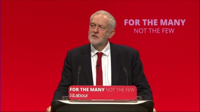 Jeremy Corbyn keynote speech ENGLAND East Sussex Brighton INT Jeremy Corbyn MP shaking hands as arrives Corbyn greeting supporters as along in...