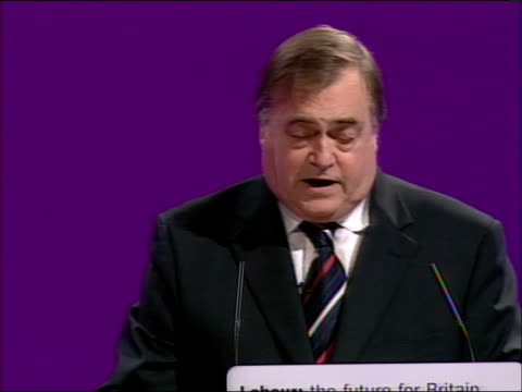 John Prescott speech But that was only made possible by taking difficult longterm decisions such as introducing the climate change levy Now I know...