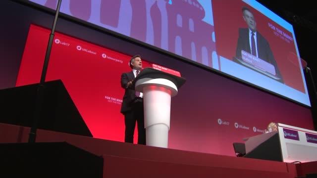 Jon Ashworth speech cutaways ENGLAND West Sussex Brighton INT Jon Ashworth MP speech SOT / CUTAWAYS Jon Ashworth and Jeremy Corbyn MP