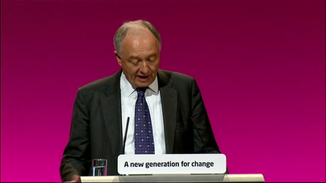 Ken Livingstone speech Ken Livingstone speech SOT Johnson has squeezed passengers a single bus fare and a weekly bus and tram pass are up by a third...