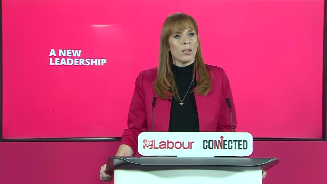 labour party 'connected' conference: angela rayner opening speech; england: int angela rayner mp speech sot - over the next three days, we will show... - politics and government stock videos & royalty-free footage