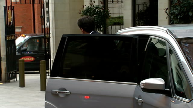 ed miliband denies a crisis of confidence in his abilities england london cbi conference ext ed miliband mp from car as arriving at cbi conference ed... - channel 4 news stock videos and b-roll footage