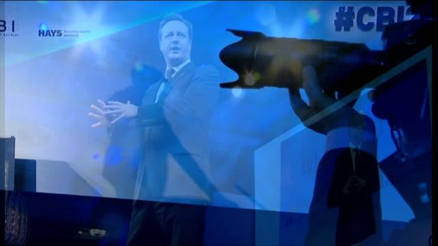 ed miliband denies a crisis of confidence in his abilities; cbi conference: ed miliband question and answer session following speech to cbi... - seguire attività che richiede movimento video stock e b–roll