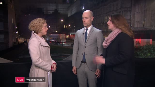 labour party gears up for a leadership contest england london westminster aberavon and alison mcgovern mp live interview sot - cathy newman stock videos & royalty-free footage