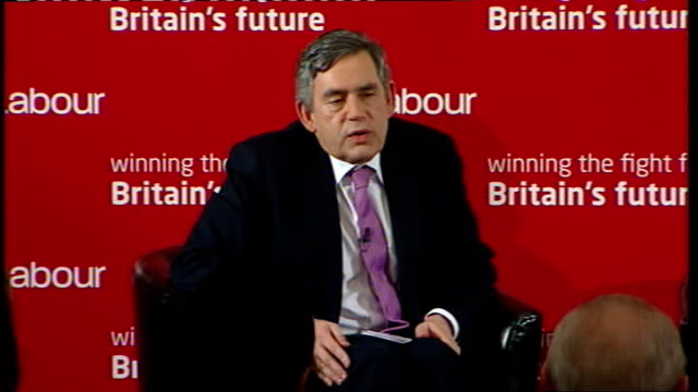 Gordon Brown speech to Labour activists in West Ham Gordon Brown response SOT Yes we have laid down conditions about jobs for people working on...