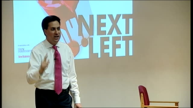 Ed Miliband launches bid during Fabian Society speech Ed Miliband speech SOT There are big lessons about this campaign / we need to think in new ways...