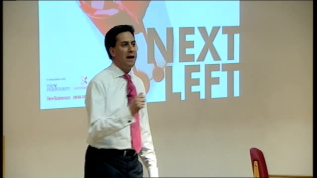 Ed Miliband launches bid during Fabian Society speech Ed Miliband speech SOT We also need to face the reality this has been a depressing week for the...
