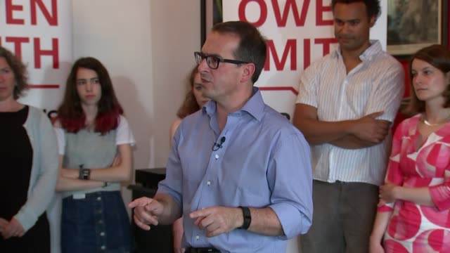 owen smith speech owen smith mp question and answers session sot - owen smith politician stock videos & royalty-free footage