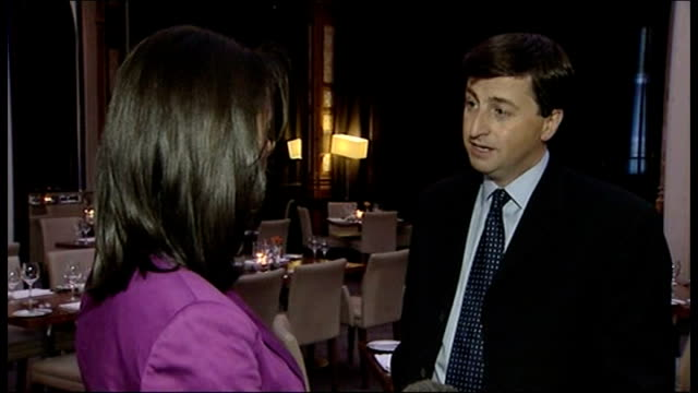 leadership race heading for close finish; manchester: douglas alexander mp interview sot - we're getting on with the task of re-winning the trust of... - douglas alexander stock videos & royalty-free footage