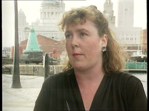 Militant purge/Terry Fields ITN via GRANADA Liverpool 2 SHOT CMS Fiona Winders intvwd SOF Terry has been thorn in Labour Party's side for years...