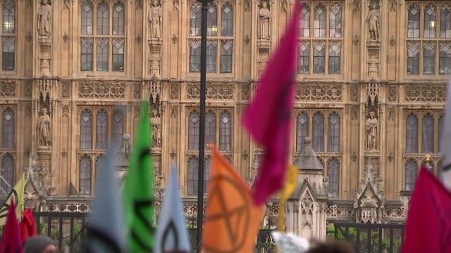 labour party motion calling for the declaration of a climate change emergency passes england london westminster ext wide shot of climate change... - climate disaster stock videos & royalty-free footage