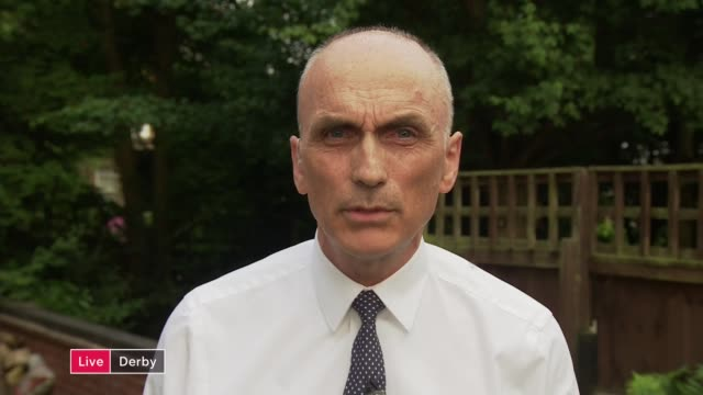 mps who opposed corbyn fear deselection; england: derby: ext chris williamson mp live interview sot - mp stock videos & royalty-free footage