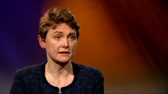 labour saves david cameron's gay marriage bill; ext / dusk gvs houses of parliament at dusk int yvette cooper mp interview sot - could have done with... - intercontinental hotels group stock videos & royalty-free footage