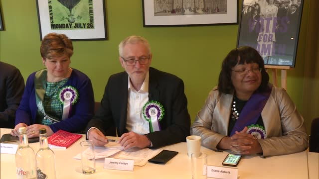 labour shadow cabinet marks 100 years since votes for women england london museum of london int iain mcnichol and barry gardiner mp / diane abbott mp... - nia long stock videos and b-roll footage