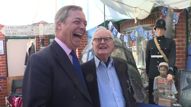 labour's deputy leader tom watson has said his party must back a second referendum or face losing votes to nigel farage's brexit partymr watson said... - nigel farage stock videos & royalty-free footage