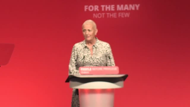 stockvideo's en b-roll-footage met labour's general secretary jennie formby has paid an emotional tribute to the nhs, saying it saved her life after she was diagnosed with breast... - assertiviteit