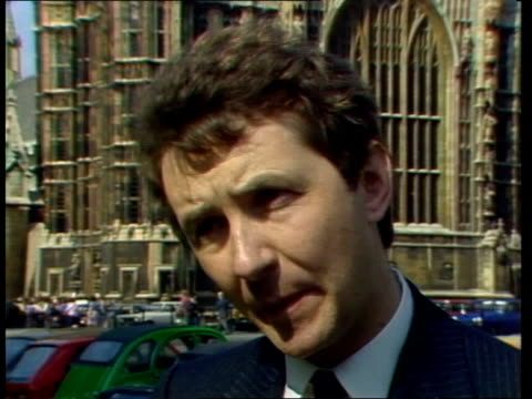 labout young socialists pamphlet row; england: london: westminster: / ext/ david alton interview sot/ eric heffer mp interview sot/ cas ex eng:... - pamphlet stock videos & royalty-free footage
