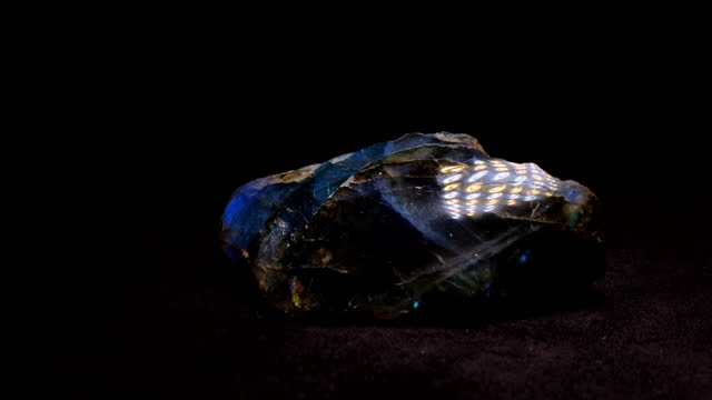 labradorite - stone object stock videos & royalty-free footage