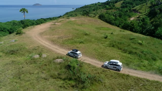 labuan bajo national park, flores. - panoramic stock videos & royalty-free footage