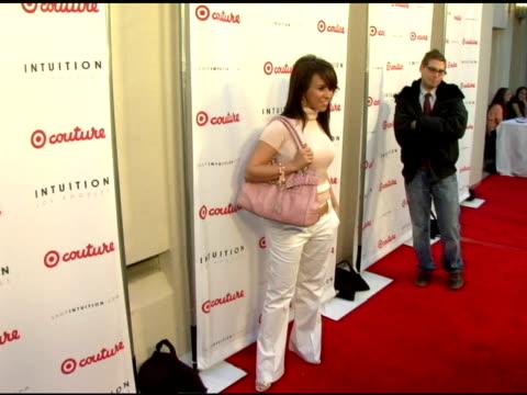 lacey chabert at the launch the target couture collection by intuition founder jaye hersh at social hollywood in hollywood california on may 11 2006 - jaye hersh stock videos and b-roll footage