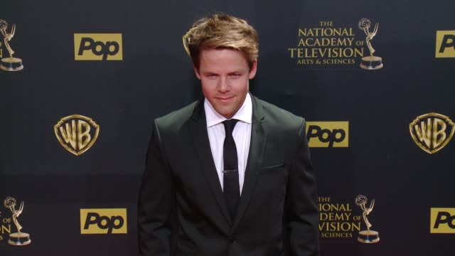Lachlan Buchanan at 42nd Annual Daytime EMMY Awards at Warner Bros Studios on April 26 2015 in Burbank California