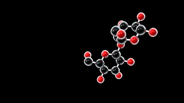lactose molecule - lactose fermentation stock videos & royalty-free footage