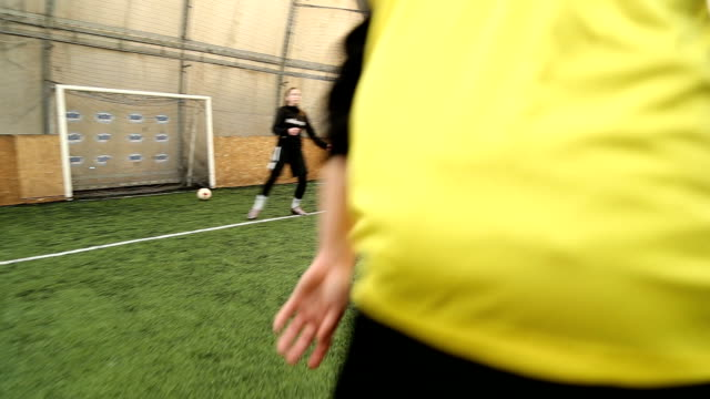 ladies know how to play soccer - women's football stock videos & royalty-free footage