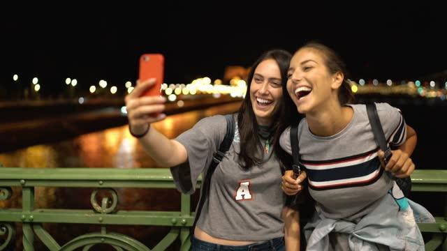 ladies' night in budapest - nightlife stock videos & royalty-free footage