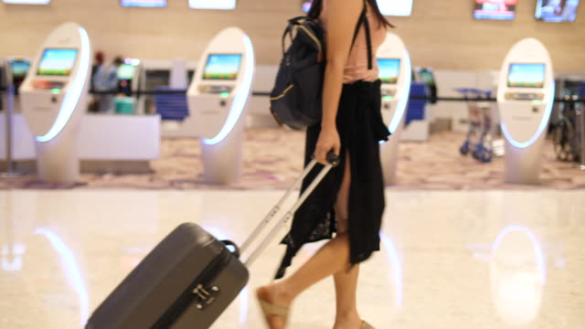 lady and her suitcase - close to stock videos & royalty-free footage