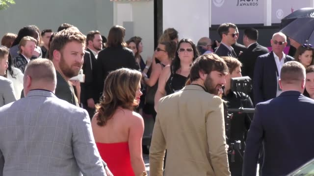 lady antebellum arriving to the 52nd academy of country music awards in celebrity sightings in las vegas - academy of country music awards stock videos & royalty-free footage