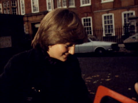 "marriage speculation; lady diana spencer: marriage speculation; england: london lady diana : sof: ""well i adore children -- like children."" cms lady... - princess stock videos & royalty-free footage"