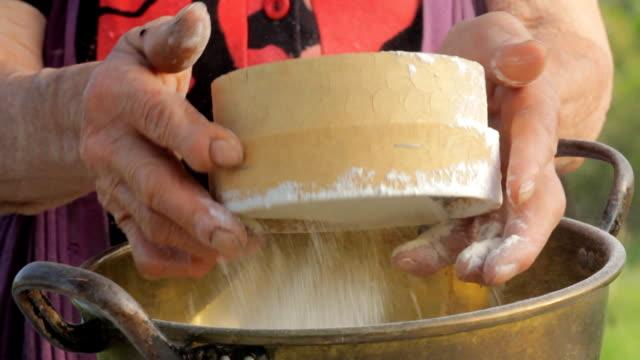 Lady Farmer Make Bread
