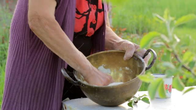 Lady Farmer Makes Bread