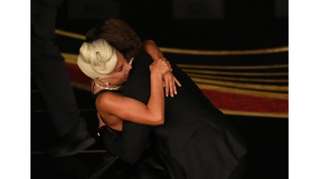 Lady Gaga and Bradley Cooper perform onstage during the 91st Annual Academy Awards at Dolby Theatre on February 24 2019 in Hollywood California