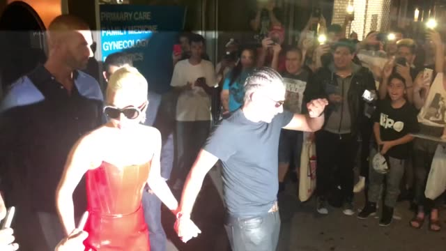 Lady Gaga and Christian Carino are seen leaving Eletric Lady Studios on May 29 2018 in New York City