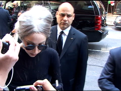 Lady Gaga arrives at Carnegie Hall in New York at the Celebrity Sightings in New York at New York NY