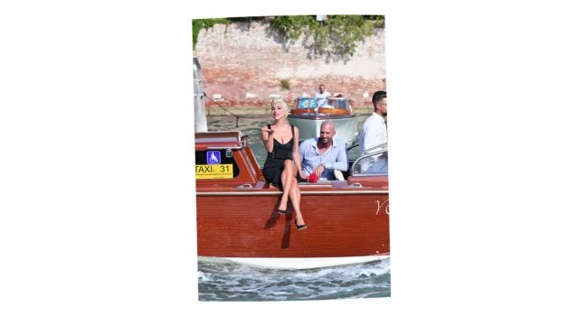 gif lady gaga arrives at the 75th venice international film festival on august 28 2018 in venice italy - lady gaga gifs stock videos & royalty-free footage