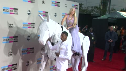 lady gaga at 2013 american music awards - arrivals in los angeles, ca 11/24/13 - american music awards stock videos & royalty-free footage