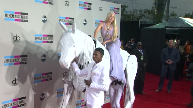 lady gaga at 2013 american music awards arrivals in los angeles ca - lady gaga stock videos & royalty-free footage