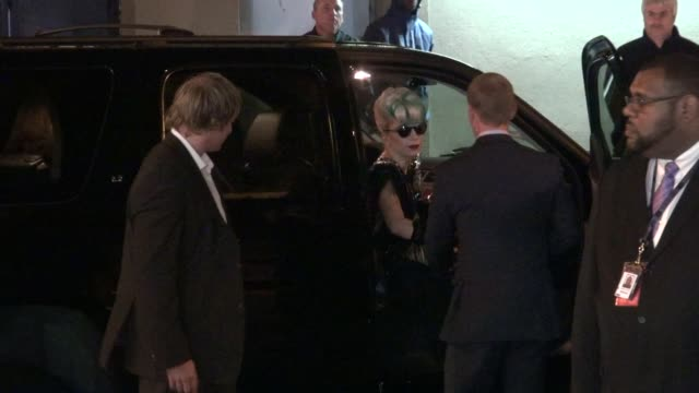 Lady Gaga at Stings 60th Birthday Concert at The Beacon Theater in New York 10/01/11