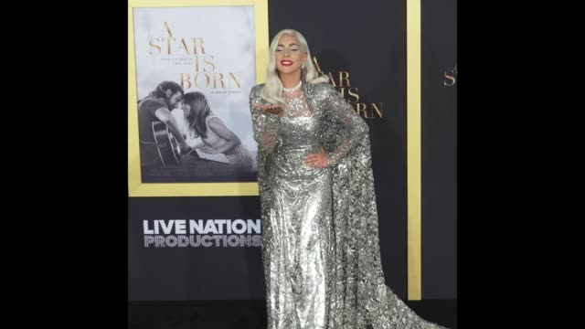 Lady Gaga at the 'A Star Is Born' Los Angeles Premiere