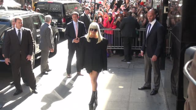 Lady Gaga at the 'Good Morning America' studio in New York NY on 9/9/13
