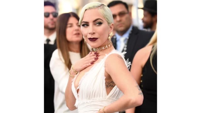 Lady Gaga attends the 25th Annual Screen Actors Guild Awards at The Shrine Auditorium on January 27 2019 in Los Angeles California