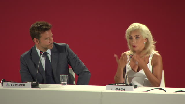 interview lady gaga bradley cooper on her italian heritage the challenges from playing her character being affaired on taking on this role learning... - lady gaga stock videos & royalty-free footage