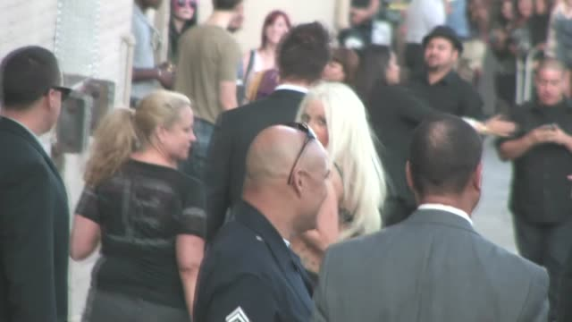 Lady Gaga finishes Sound Check in Hollywood