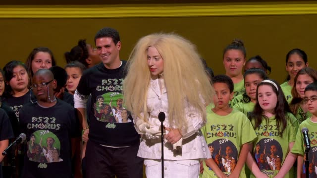 SPEECH Lady Gaga on her true passion is activism and spreading love at on Glamour Magazine's 23rd Annual Women Of The Year Awards Event at the...